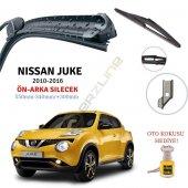 Erzline Nissan Juke Ön Arka Silecek Seti 2010...
