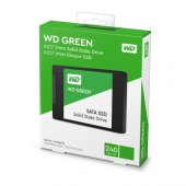 WD Green 240 GB 2,5'' Sata3 Ssd 545MB/S 3dnand (WDS240G2G0A) Hdd Harddisk