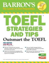 Toefl Strategies And Tips With Mp3 Cds 2e Barron' S