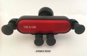 Arabada Araç İçi Oto Akrobat This İs One Araba İçin Ahtapot Yeni Nesil Havalandırma Telefon Tutucu Kırmızı Renk