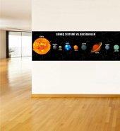Güneş Sistemi Ve Gezegenler 8 Ebat 135x400 Cm