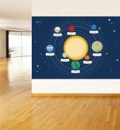 Güneş Sistemi Ve Gezegenler 9 Ebat 140x200 Cm
