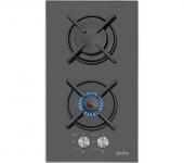 Simfer 3040 Set Üstü Siyah İkili Ocak