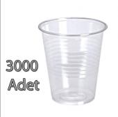 Plastik Pet Bardak 180 Cc Şeffaf 3000 Adet