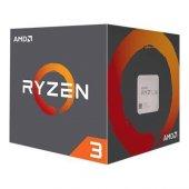AMD Ryzen ™ 3 1200 3.1GHz (Turbo 3.4GHz) 8MB AM4 İşlemci (Wraith Stealth Soğutuculu)