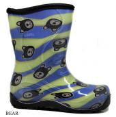 Twigy Nn0604 Erkek Çocuk Yağmur Çizmesi Bear