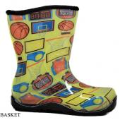 Twigy Nn0605 Erkek Çocuk Yağmur Çizmesi Basket