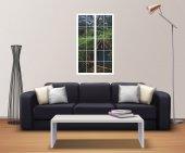 Pencere, Shire, Hobbit Köy Duvar Sticker-2