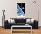 Pencere, Atmosfer, Uydu, Uzay Duvar Sticker-2