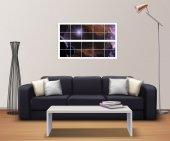 Pencere, Uzay Boşluğu, Yıldızlar Duvar Sticker-2