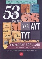 A Yayınları Tyt Ayt Paragraf Son 53 Yılın Çıkmış Soruları Ve Ayrı