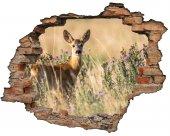 Kırık Tuğla, Geyik, Ceylan Duvar Sticker
