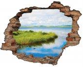 Kırık Tuğla, Sazlık, Ördek, Gölet Duvar Sticker