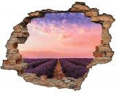 Kırık Tuğla, Lavanta Bahçesi Duvar Sticker