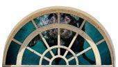 Pencere, Yüzen Köpek, Deniz Duvar Sticker
