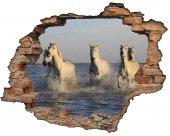 Kırık Tuğla, Atlar, Deniz Duvar Sticker
