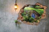 Kırık Tuğla, Hobbit, Shire Duvar Sticker-2