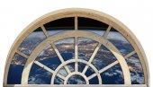 Pencere, Atmosfer, Uzay, Dünya Duvar Sticker