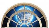 Pencere, Dolunay, Gece Duvar Sticker
