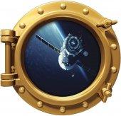 Uzay Gemisi, Atmosfer, Roket, Uydu Duvar Sticker