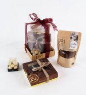 Liva Fındık Bitter Fildişi Çikolata Küp Kutu Serisi