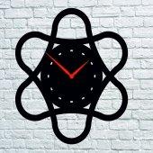 TrendBOX  Ahşap  Duvar Saati  Halkalar