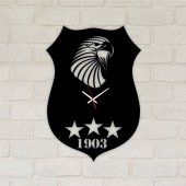 Trendbox Modern Dekoratif Ahşap Duvar Saati 50...