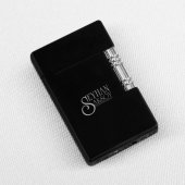 TrendBox Kişiye Özel Siyah Metal Çakmak