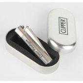 TrendBox Kişiye Özel İsim Yazılı Clipper Metalik Çakmak
