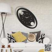 Trendbox Modern Dekoratif Ahşap Duvar Saati 121