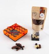 Liva Portakal Kabuk Kahve Draje Çikolata Küp Kutu Serisi-2