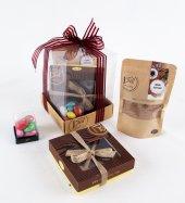 Liva Badem Çikolata Küp Kutu Serisi