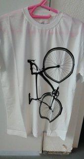 Procycle Bisiklet Baskılı Tişört(Beyaz M Beden)uysal Bisiklet