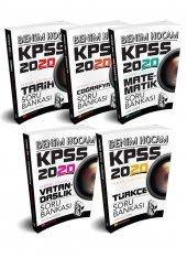 Benim Hocam Yayınları 2020 KPSS GY-GK Tamamı Çözümlü Soru Bankası Seti