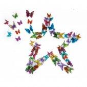 3d Kelebekler 57 Adet