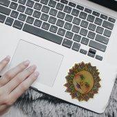 Boho Güneş 2 Tek Mini Notebook Sticker