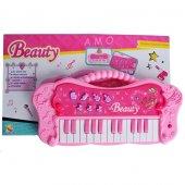 Oyuncak Beauty Pembe Piyano 25 Tuşlu