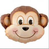 Folyo Balon Maymun 40 Cm Helyum Uyumlu