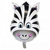 Folyo Balon Zebra 40 Cm Helyum Uyumlu