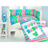 Kidboo Baby 8 Parça Baskılı Uyku Seti 70x130 cm