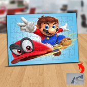 Süper Mario Bros Kırmızı Şapka 99 Parça Puzzle Yapboz Tablo-678