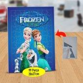 Karlar Ülkesi Kardeş Elsa ve Anna 99 Parça Puzzle Yapboz Tablo-5