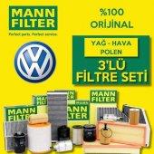 Vw Passat 1.6 Mann Filter Filtre Bakım Seti (2005 ...