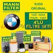 Bmw 3.20 D Mann Filter Filtre Bakım Seti (E46 2002...