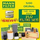 Seat Cordoba 1.4 Tdi Mann Filter Filtre Bakım Seti...