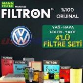 Vw Polo 1.4 Filtron Filtre Bakım Seti (2001 2008)...