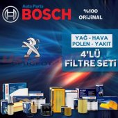Peugeot 307 1.4 Hdi Bosch Filtre Bakım Seti 2001 2...