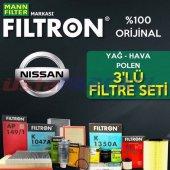Nissan Qashqai 1.5 Dcı Filtron Filtre Bakım Seti (...