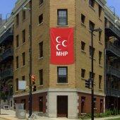 Bozkurt Hilal Kırmızı Sancak Bayrak Mhp (200x300cm)
