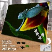 Asil Hobi - Bukalemun - Sevimli Hayvan - Doğa Yapboz - Ayak Destekli 240 Parça Puzzle-2